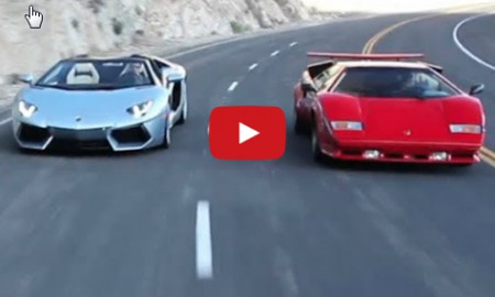 Lamborghini Aventador vs Lamborghini Countach