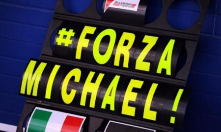 Schumacher z zapaleniem płuc