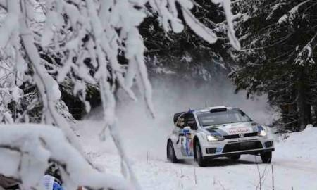 Trójka VW na czele Rajdu Szwecji