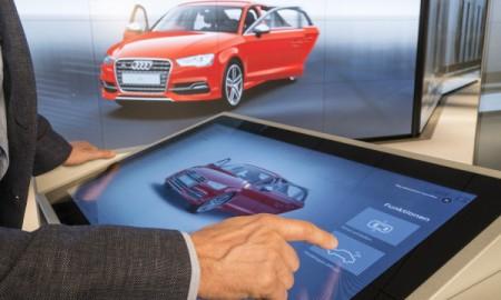 W wirtualnym salonie Audi