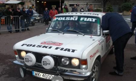 Polacy na mecie 17 Rallye Monte Carlo Historique