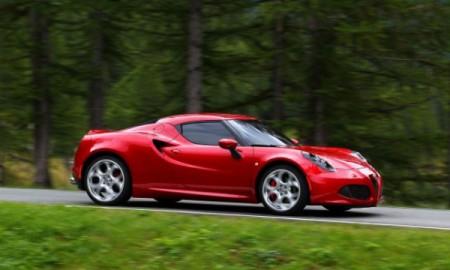 Alfa Romeo 4C najpiękniejsza