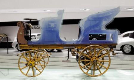 Pierwszy pojazd Porsche