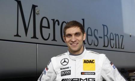 Pietrow za kierownicą Mercedesa DTM