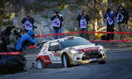 Pierwsze podium Krisa Meeke w WRC