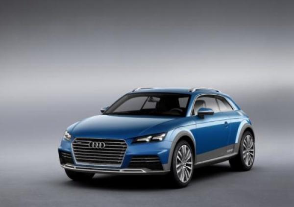 Audi allroad shooting brake – Audi TT w terenie?