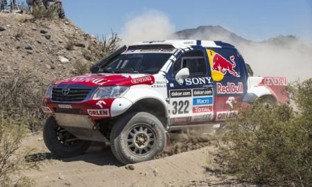 Małysz w trzecim etapie Dakaru: Bez problemów