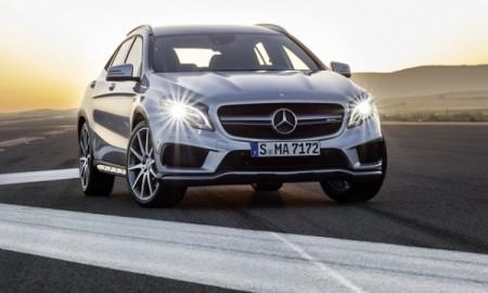 Mercedes GLA 45 AMG - Nowy SUV Mercedesa pręży muskuły