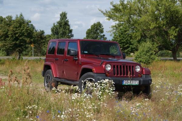 Jeep Wrangler Unlimited Volcano 2.8 CRD - Zdobywca bezdroży