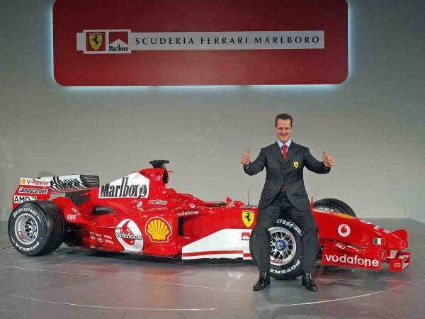 Ferrari uczci urodziny Schumachera