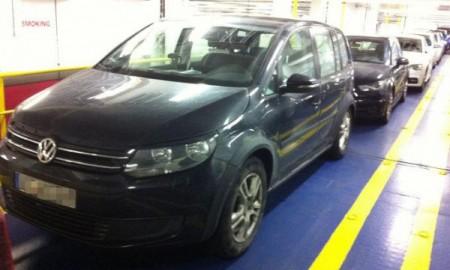 Przyłapany VW Touran