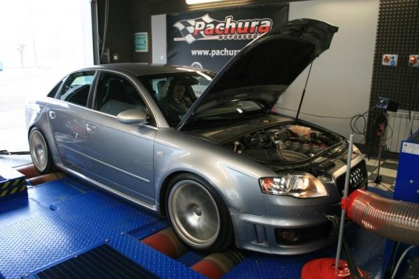 Kompresor TTS Rotrex dla Audi RS4 i Audi S5