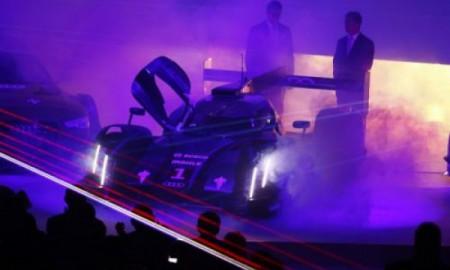 Laserowe światła nowego Audi R18 e-tron quattro
