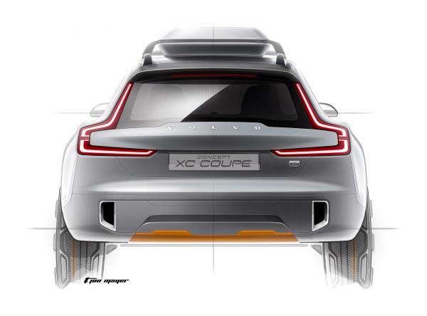 Volvo XC - W stylu coupe?