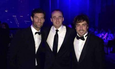 Kubica – Osobowość Roku FIA