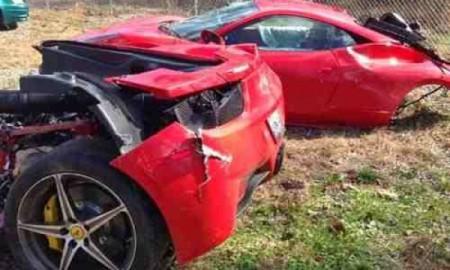 Ferrari 458 Italia w dwóch częściach