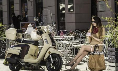 Platynowa kolekcja skuterów City