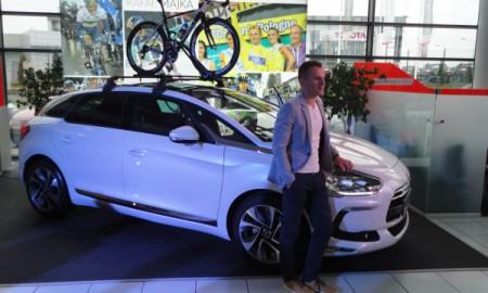 Rafał Majka ambasadorem Citroëna