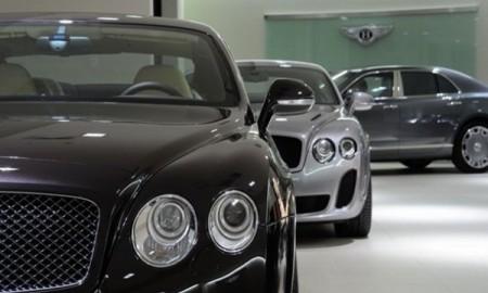 Kradzież pięciu Bentleyów