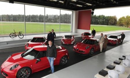 Pierwsi nabywcy Alfy Romeo 4C