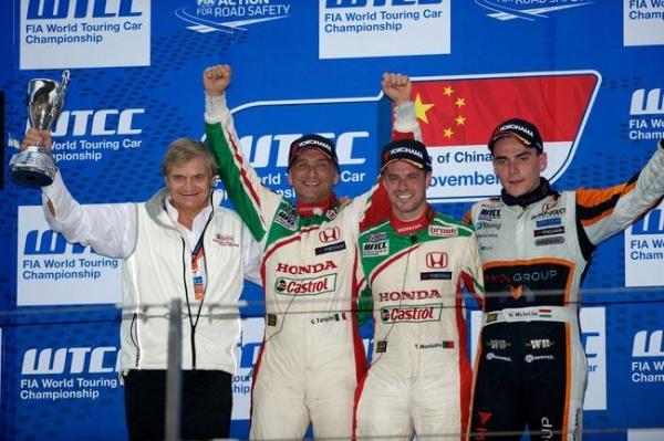 Całe podium dla Hondy w Szanghaju