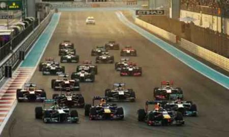 Vettel od startu do mety