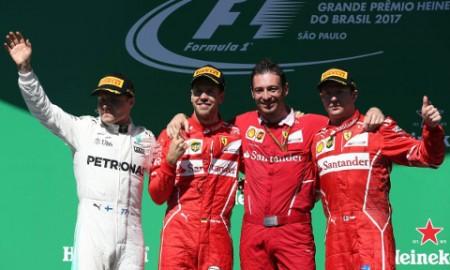 Grand Prix Brazylii – Spóźnione zwycięstwo Ferrari