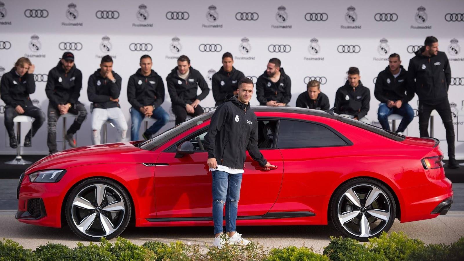 Gwiazdy Real Madrytu w nowych autach służbowych