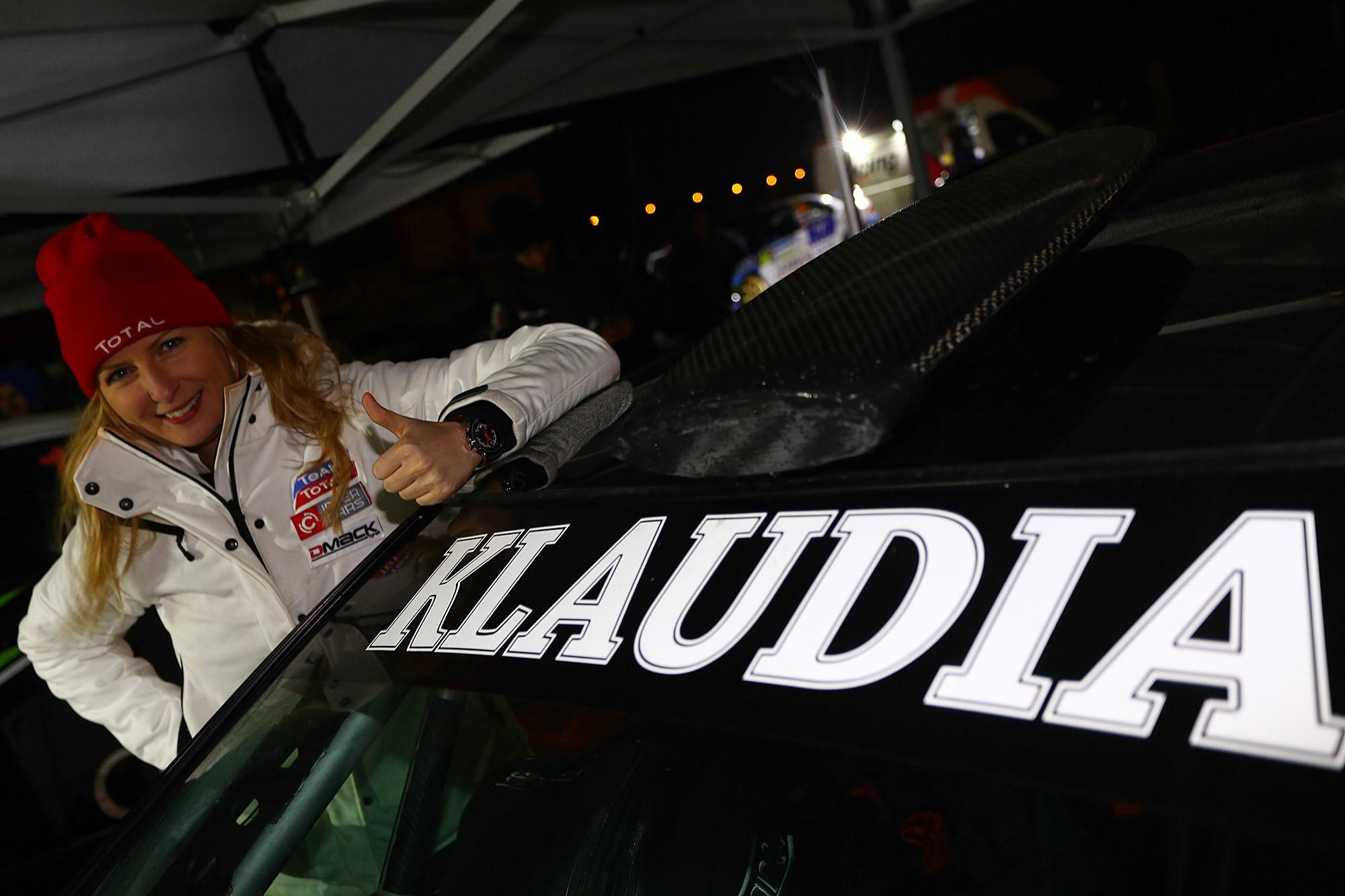 Klaudia Podkalicka w Rajdzie Barbórka