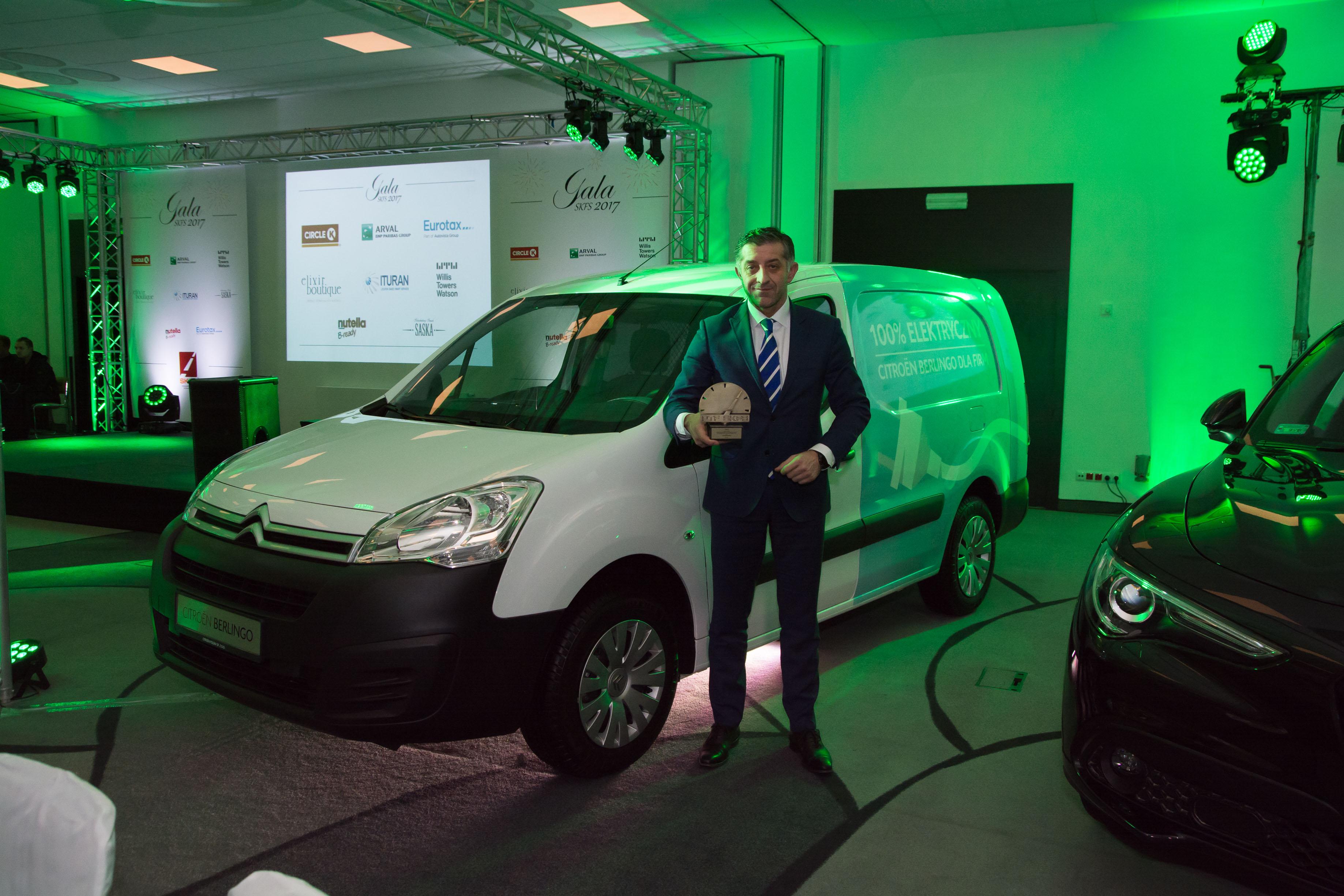 Citroën Berlingo Flotowym Samochodem Roku