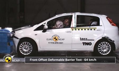 Fiat Punto – Zero gwiazdek w testach EuroNCAP