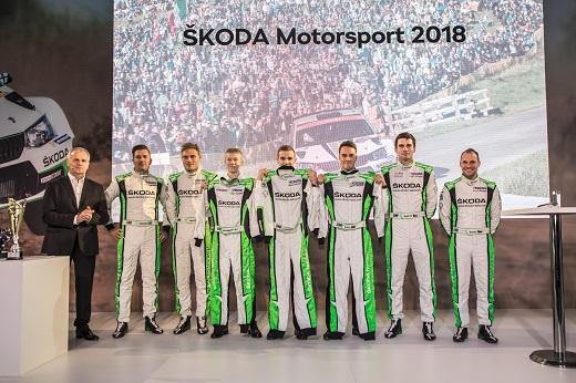 Skoda Motorsport w 2018 r. stawia na młodych kierowców