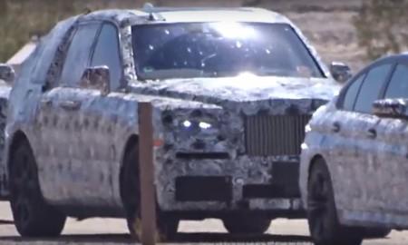 BMW i Rolls-Royce – testy w Dolinie Śmierci