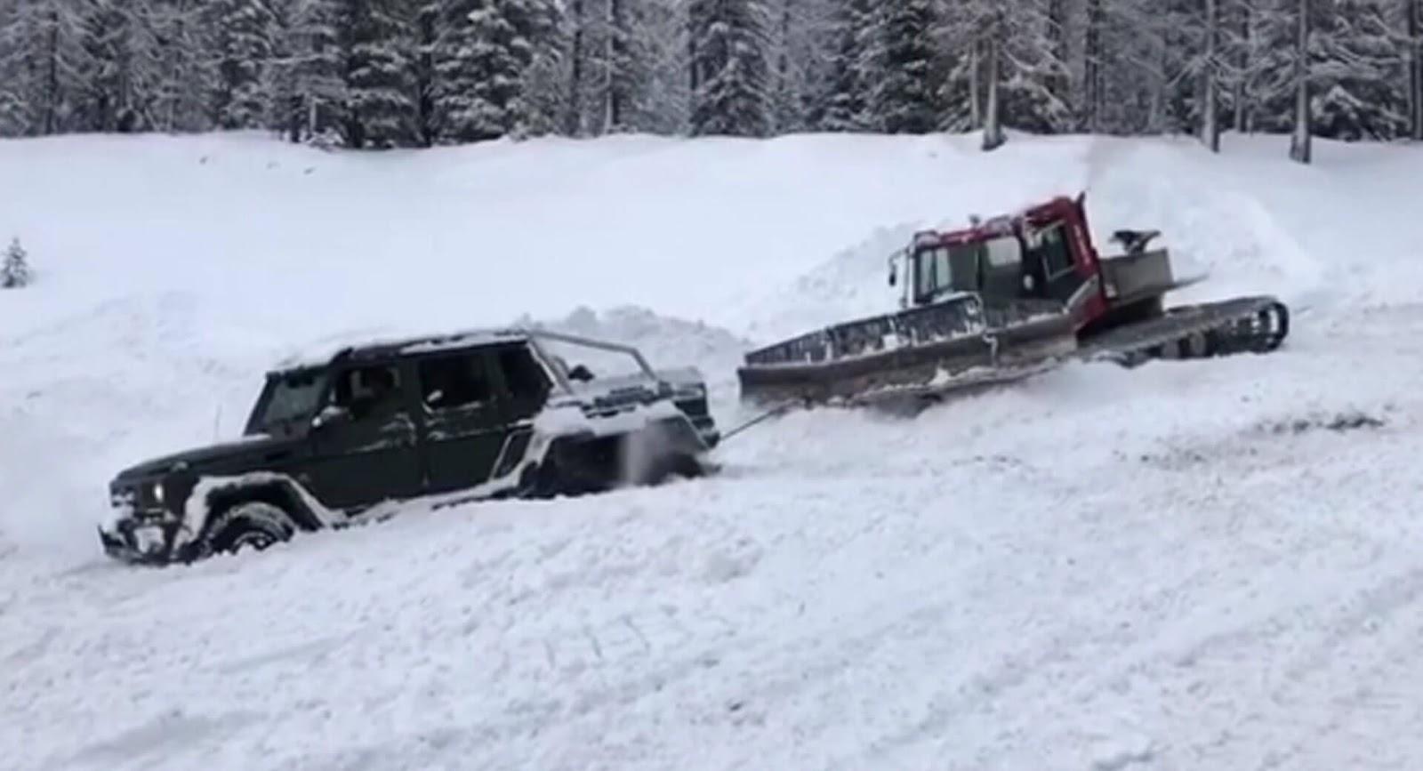 Mercedes G63 6x6  - Nie do zatrzymania?