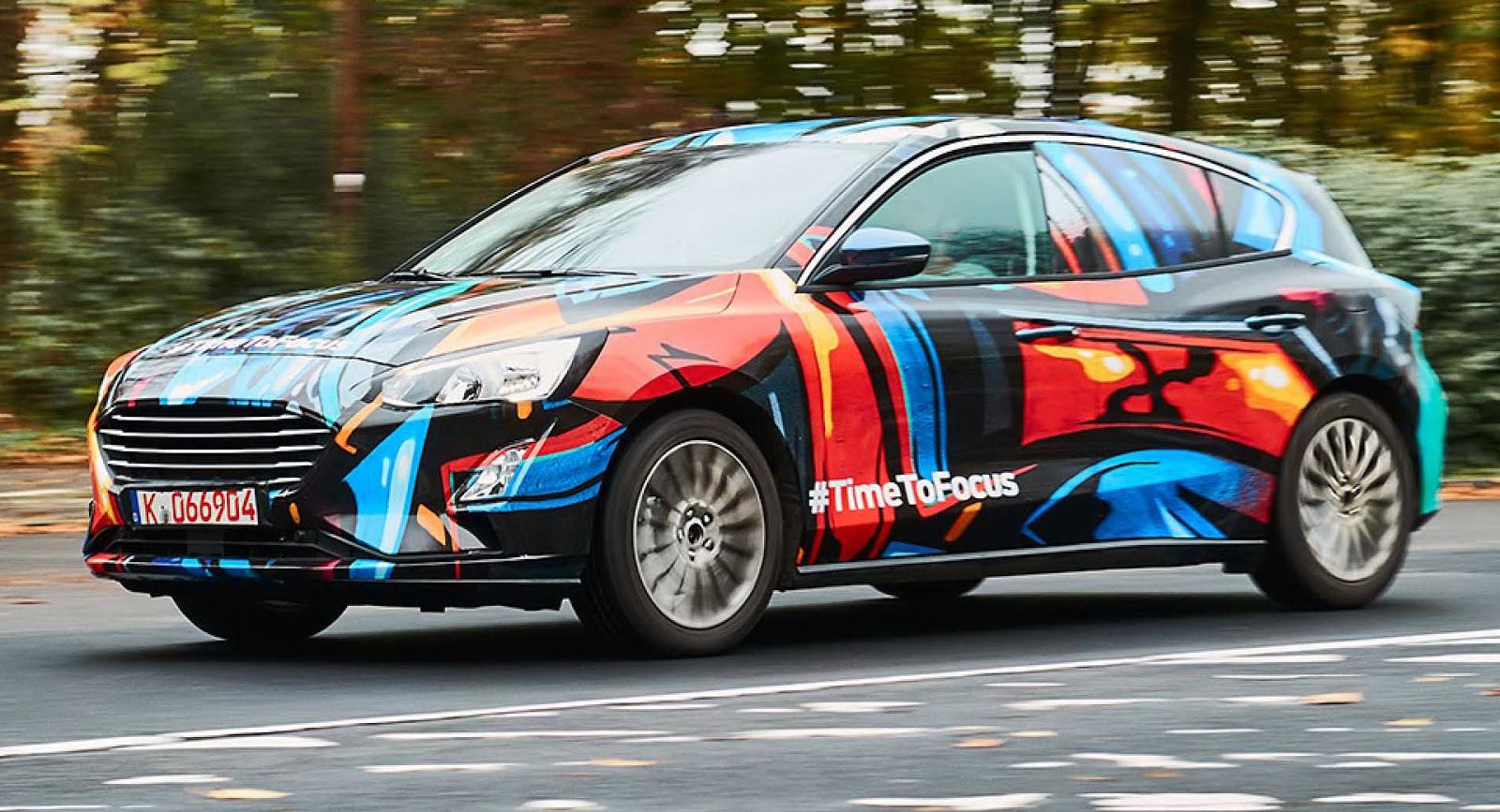 Ford Focus IV – Bliżej premiery