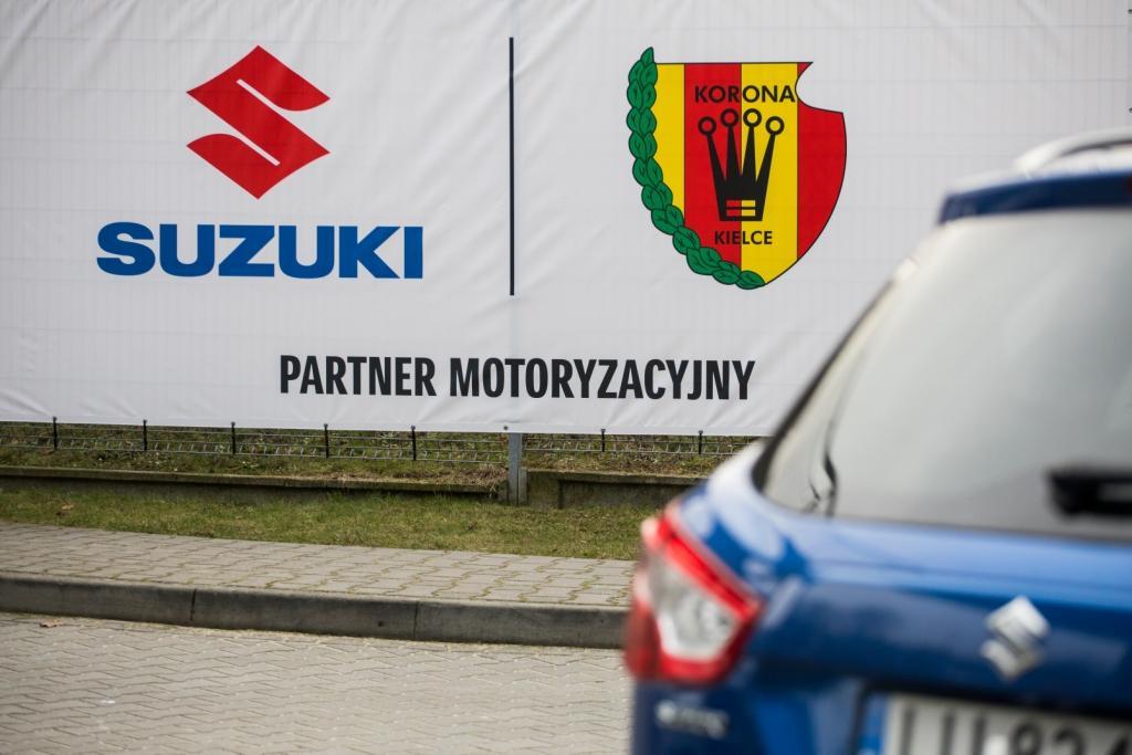 Suzuki sponsorem Korony Kielce