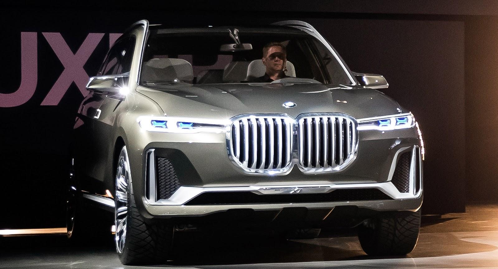 W Detroit zabrakło studyjnego modelu BMW X7