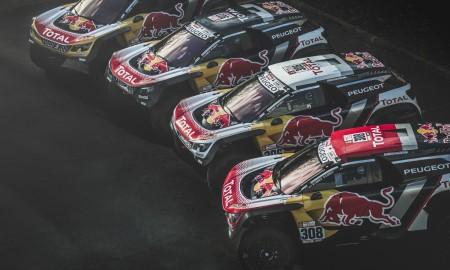 Peugeot w drodze po zwycięstwo w Rajdzie Dakar 2018