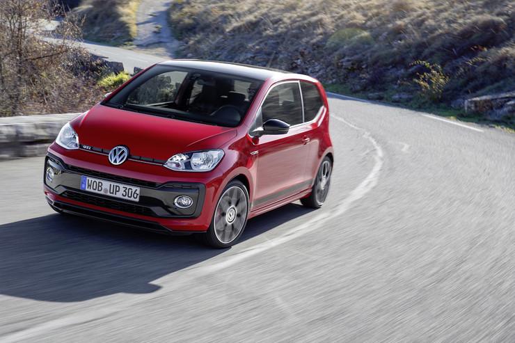 VW up! GTI w salonach