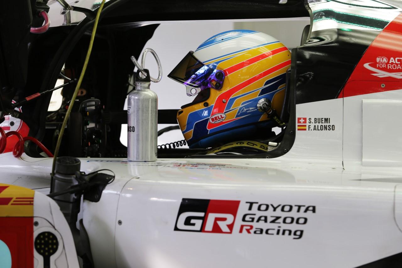 Fernando Alonso zadebiutuje w Toyocie w serii FIA WEC