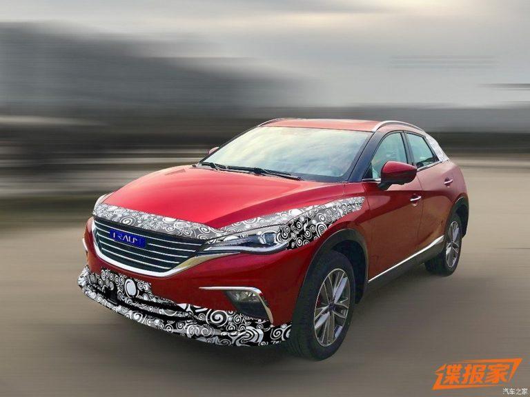 Chiński crossover Zotye, czyli Mazda CX-4