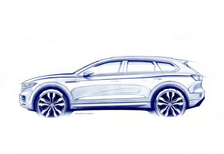 Nowy VW Touareg – debiut w Pekinie