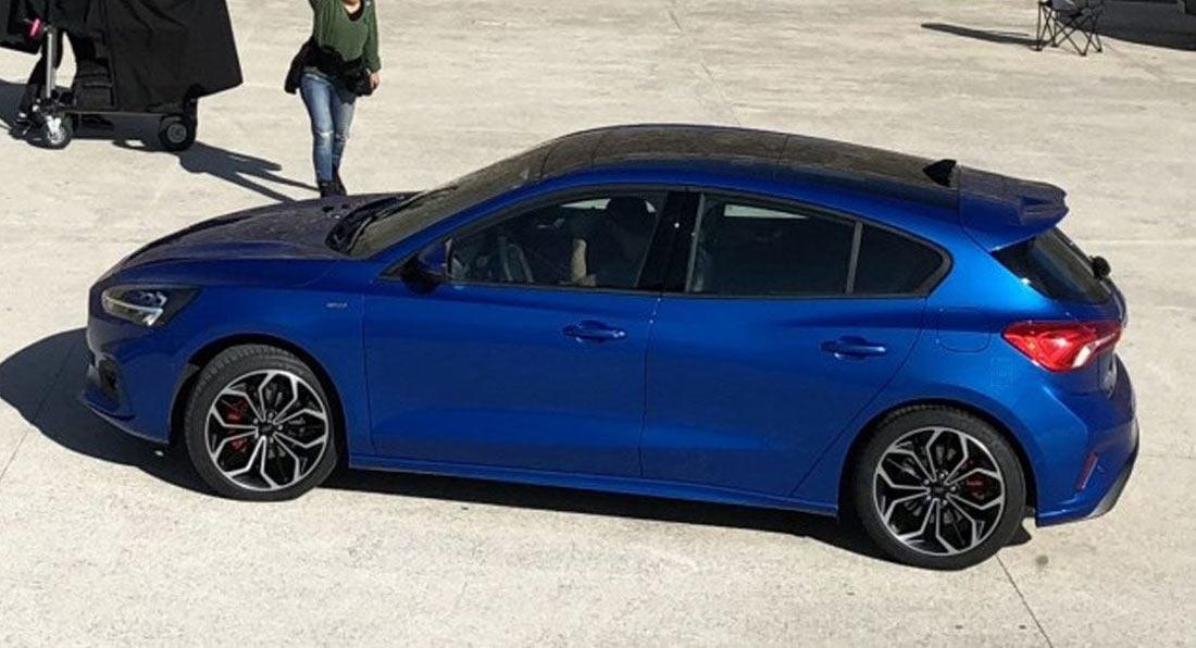 Nowy Ford Focus przyłapany bez kamuflażu