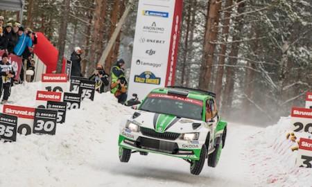 Załogi Skody na podium w Rajdzie Szwecji