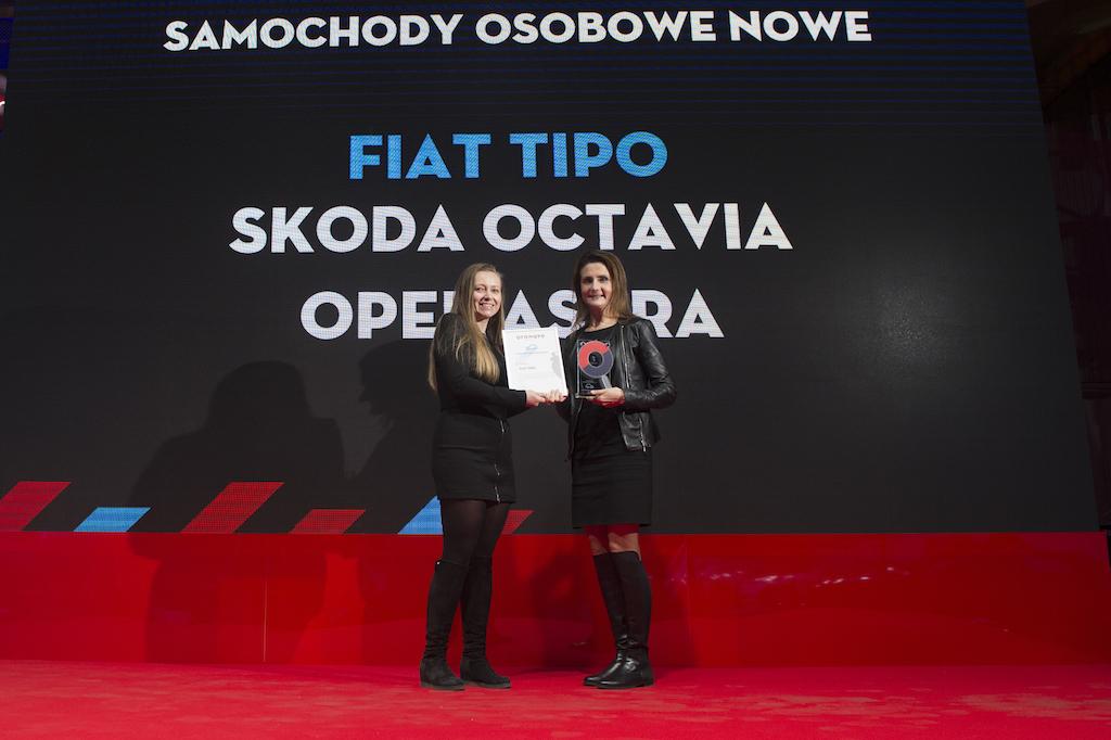 Fiat Tipo i Fiat Ducato Internetowymi Samochodami Roku 2017