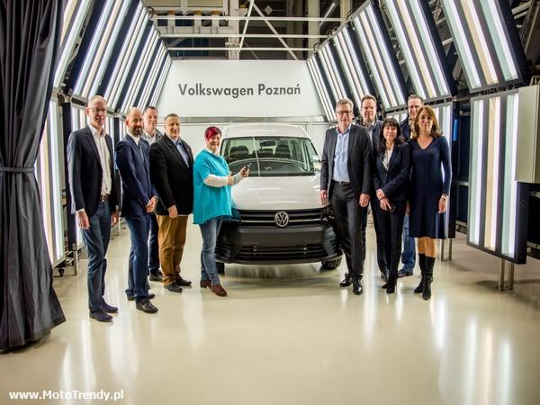Dwumilionowy VW Caddy