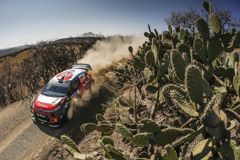 Testowy Rajdu Meksyku Citroëna