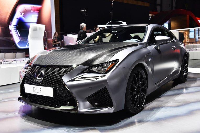 Lexus świętuje 10. rocznicę serii F