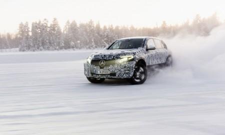 Mercedes EQC i GLC F-CELL – W krainie lodu