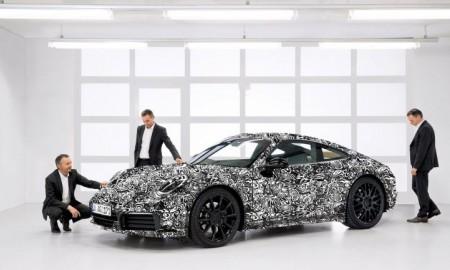 Hybrydowe nowe Porsche 911